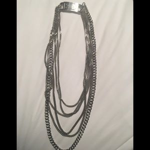 Michael Kors multi chain necklace